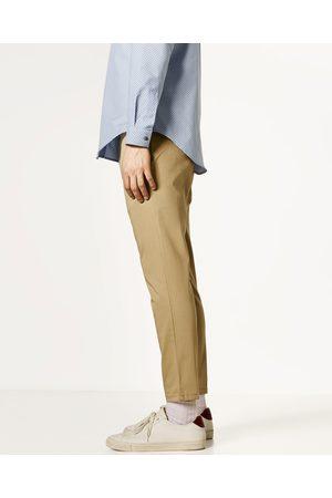 Hombre Chinos - Zara PANTALÓN CHINO CROPPED - Disponible en más colores