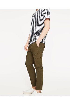 Pantalones Cargo de hombre Zara vintage ¡Compara ahora y