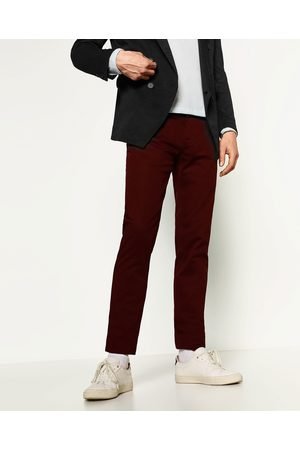 Hombre Chinos - Zara PANTALÓN CHINO SLIM - Disponible en más colores