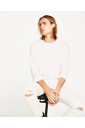 Hombre Pantalones y Leggings - Zara DENIM BIKER