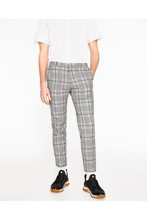 pantalon raya diplomatica zara hombre