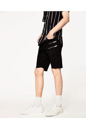 Hombre Bermudas - Zara BERMUDA BIKER - Disponible en más colores