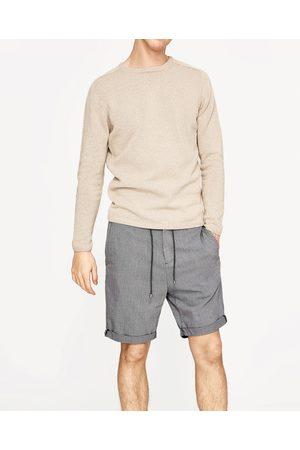 Hombre Bermudas - Zara BERMUDA ESTRUCTURA - Disponible en más colores