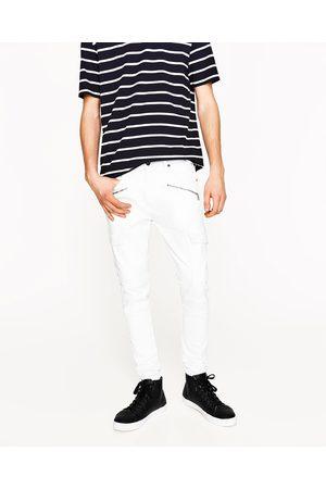 Hombre Pantalones y Leggings - Zara PANTALÓN BIKER CARGO - Disponible en más colores