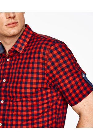 Hombre Camisas y Blusas - Zara CAMISA CUADROS SARDINETA - Disponible en más colores