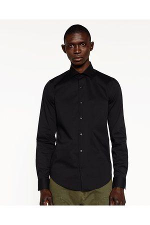 Hombre Camisas y Blusas - Zara CAMISA LISA STRETCH - Disponible en más colores
