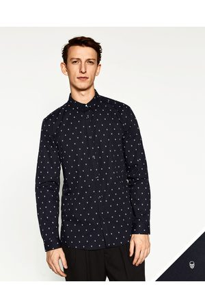 Hombre Camisas y Blusas - Zara CAMISA ESTAMPADA CALAVERAS - Disponible en más colores