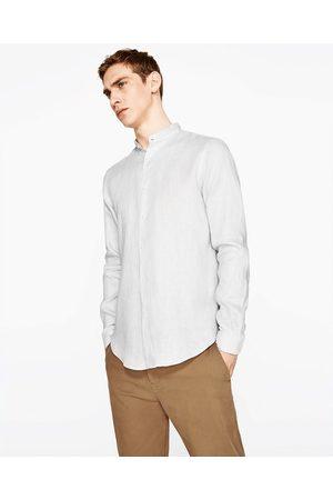 CUELLO Blusas colores CAMISA en Zara LINO más Camisas MAO Hombre Disponible y n6xPIYqYEw