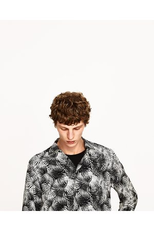 Hombre Camisas y Blusas - Zara CAMISA PALMERAS
