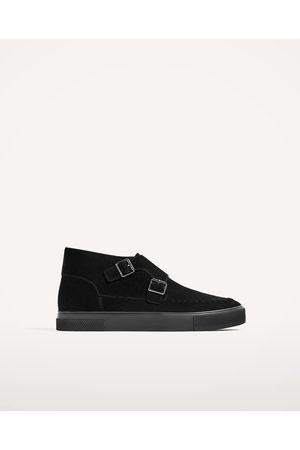 Hombre Zapatos - Zara DEPORTIVO ABOTINADO DOBLE HEBILLA