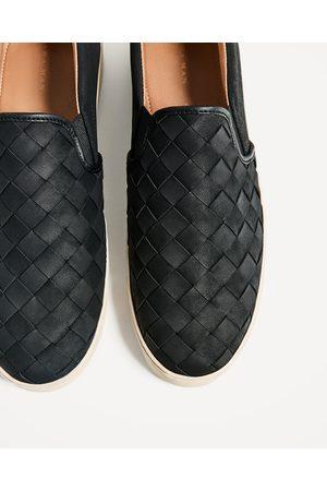Hombre Zapatos - Zara DEPORTIVO TRENZADO SIN CIERRE - Disponible en más colores