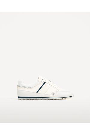 Hombre Zapatos - Zara DEPORTIVO DETALLES AZULES