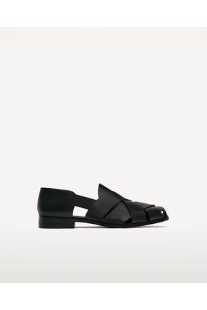 Hombre Zapatos - Zara ZAPATO PIEL ABIERTO TIRAS