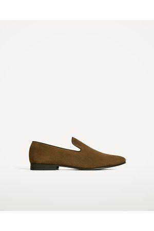Hombre Zapatos - Zara MOCASÍN PIEL LISA