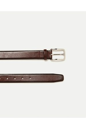 Hombre Cinturones - Zara CINTURÓN PIEL